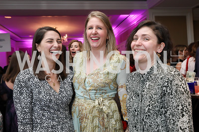 Olivia DiAntonio, Emily Pasqual, Martha Keller. Photo by Tony Powell. 14th Annual Women & Wine. Ritz Tysons. April 24, 2019