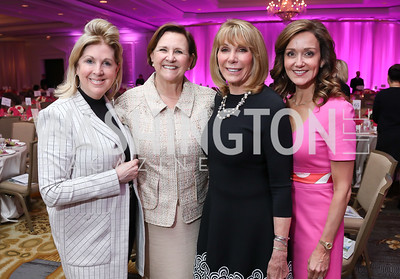 Executive Committee Sherrie Beckstead, Co-Chairs Janet Davis and Barbara McDuffie, Executive Committee Jennifer Bognet. Photo by Tony Powell. 14th Annual Women & Wine. Ritz Tysons. April 24, 2019.JPG