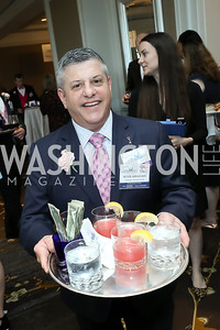 Peter Abrahams. Photo by Tony Powell. 14th Annual Women & Wine. Ritz Tysons. April 24, 2019