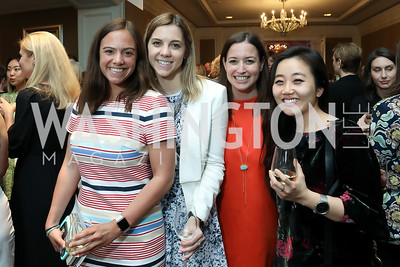 Ella Cooper, Lauren Thomas, Morgan Monroe, Misun Yoon. Photo by Tony Powell. 14th Annual Women & Wine. Ritz Tysons. April 24, 2019