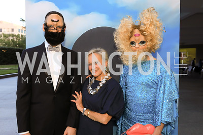 Eric Leeder, Jill Udall, Stacy King. Photo by Tony Powell.1st Annual Hirshhorn Ball. June 15, 2019