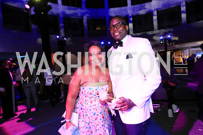 Robyn and Andre Wells. Photo by Tony Powell.1st Annual Hirshhorn Ball. June 15, 2019