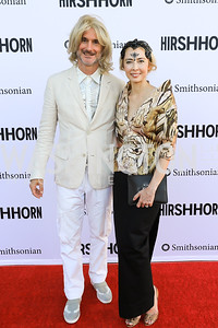 Benjamin Genocchio and Melissa Chiu. Photo by Tony Powell.1st Annual Hirshhorn Ball. June 15, 2019