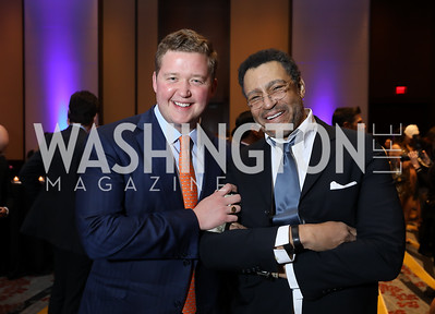 Daniel Heider, Darryl Carter. Photo by Tony Powell. 2019 N Street Village Gala. Marriott Marquis. March 14, 2019