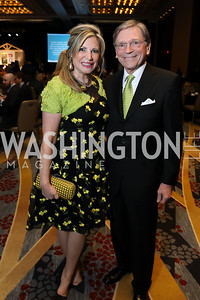 Tina Alster and Paul Frazer. Photo by Tony Powell. 2019 N Street Village Gala. Marriott Marquis. March 14, 2019