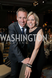 Arne and Ruth Sorenson. Photo by Tony Powell. 2019 N Street Village Gala. Marriott Marquis. March 14, 2019