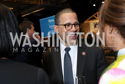 Rep. Anthony Brown. Photo by Tony Powell. 2019 N Street Village Gala. Marriott Marquis. March 14, 2019