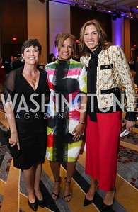 Gala Co-Chairs Kasey Crowley, Erika Bolden, Hillary Baltimore. Photo by Tony Powell. 2019 N Street Village Gala. Marriott Marquis. March 14, 2019