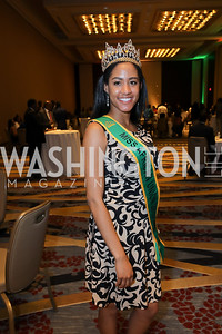 2018-19 Miss African Union Lukwesa Morin. Photo  by Tony Powell. 2019 Africa Day Celebration. Marriott Marquis. May 23, 2019