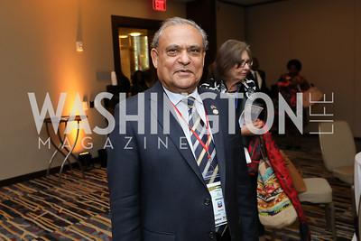 Mauritius Amb. Soorooj Phokeer. Photo  by Tony Powell. 2019 Africa Day Celebration. Marriott Marquis. May 23, 2019