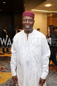 Ghana Amb. Barfuor Adjei-Barwuah. Photo  by Tony Powell. 2019 Africa Day Celebration. Marriott Marquis. May 23, 2019