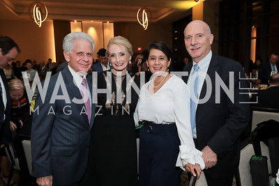 Donald and Rhona Friedman, Ana Harvey and Phil Mendelson. Photo by Tony Powell. 2019 AfterDark @ THEARC. The Anthem. October 11, 2019