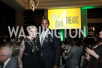 Rhona Friedman, Rahsaan Bernard. Photo by Tony Powell. 2019 AfterDark @ THEARC. The Anthem. October 11, 2019