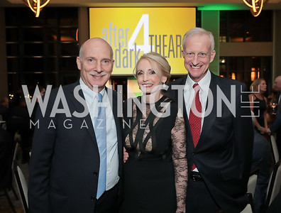 Phil Mendelson, Rhona Friedman, Jack Evans. Photo by Tony Powell. 2019 AfterDark @ THEARC. The Anthem. October 11, 2019