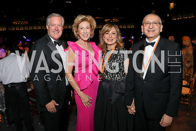Rep. Mark Meadows and Debbie Meadows, Nahla Reda and Egypt Amb. Yasser Reda. Photo by Tony Powell. 2019 Ambassadors Ball. The Anthem. September 10, 2019