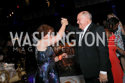 Rep. Ron Estes and Susan Estes. Photo by Tony Powell. 2019 Ambassadors Ball. The Anthem. September 10, 2019