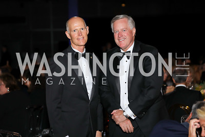 Sen. Rick Scott, Rep. Mark Meadows. Photo by Tony Powell. 2019 Ambassadors Ball. The Anthem. September 10, 2019