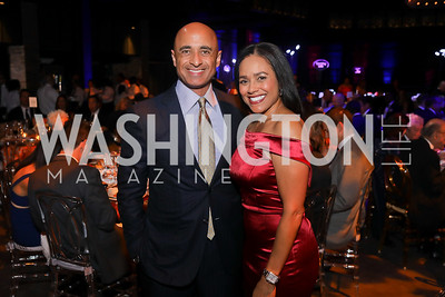 UAE Amb. Yousef Al Otaiba, Chartese Berry. Photo by Tony Powell. 2019 Ambassadors Ball. The Anthem. September 10, 2019