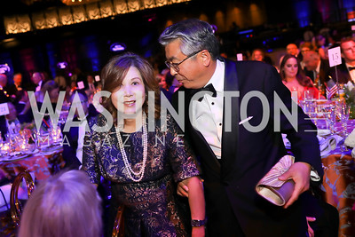 Yoko Sugiyama and Japan Amb. Shinsuke Sugiyama. Photo by Tony Powell. 2019 Ambassadors Ball. The Anthem. September 10, 2019