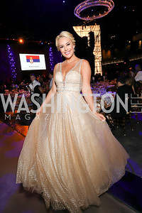 Britt McHenry. Photo by Tony Powell. 2019 Ambassadors Ball. The Anthem. September 10, 2019