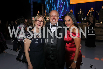 Cyndi Zagieboylo, Jon Strum, Chartese Berry. Photo by Tony Powell. 2019 Ambassadors Ball. The Anthem. September 10, 2019