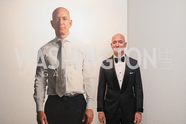 """Portrait of a Nation Prize"" recipient Jeff Bezos. Photo by Tony Powell. 2019 American Portrait Gala. NPG. November 17, 2019"