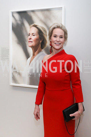 """Portrait of a Nation Prize"" recipient Frances Arnold. Photo by Tony Powell. 2019 American Portrait Gala. NPG. November 17, 2019"