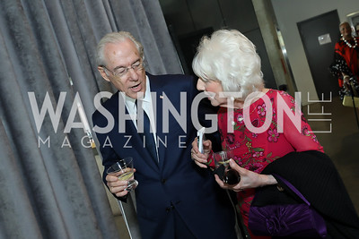 George Vradenburg, Diane Rehm. Photo by Tony Powell. 2019 Arena Stage Gala. May 21, 2019
