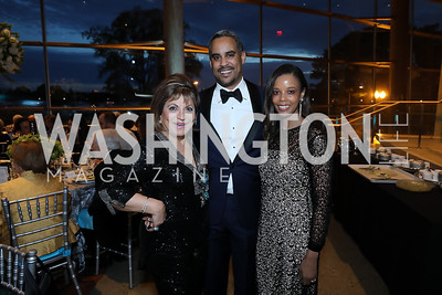 Annie Totah, Prince Joel and Princess Ariana Makonnen. Photo by Tony Powell. 2019 Arena Stage Gala. May 21, 2019