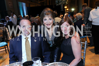 Rod Rosenstein, Annie Totah, Lisa Barsoomian. Photo by Tony Powell. 2019 Arena Stage Gala. May 21, 2019
