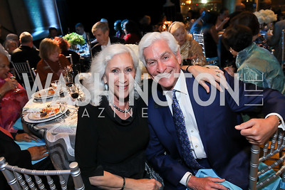 Peggy and David Shiffrin. Photo by Tony Powell. 2019 Arena Stage Gala. May 21, 2019