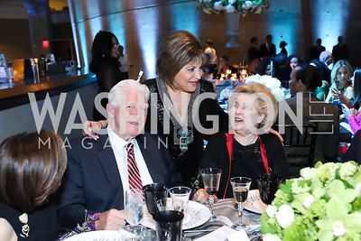 Rep. Jim Moran, Annie Totah, Beth Newburger Schwartz. Photo by Tony Powell. 2019 Arena Stage Gala. May 21, 2019
