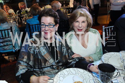 Molly Smith, Nina Totenberg. Photo by Tony Powell. 2019 Arena Stage Gala. May 21, 2019