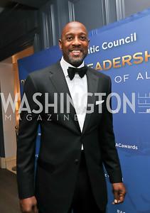 Alonzo Mourning. Photo by Tony Powell. 2019 Atlantic Council Awards. Ritz Carlton. April 30, 2019