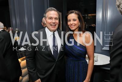 David McCormick and Dina Powell. Photo by Tony Powell. 2019 Atlantic Council Awards. Ritz Carlton. April 30, 2019