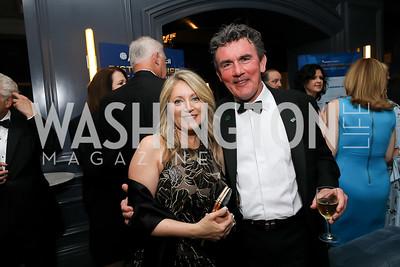 Rose Mann, Ray Power. Photo by Tony Powell. 2019 Atlantic Council Awards. Ritz Carlton. April 30, 2019