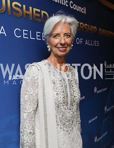 Christine Lagarde. Photo by Tony Powell. 2019 Atlantic Council Awards. Ritz Carlton. April 30, 2019