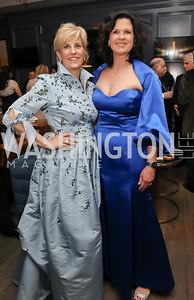 Paige Ennis, Kathy Baughman McLeod. Photo by Tony Powell. 2019 Atlantic Council Awards. Ritz Carlton. April 30, 2019