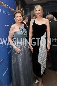 Adrienne Arsht, Ivanka Trump. Photo by Tony Powell. 2019 Atlantic Council Awards. Ritz Carlton. April 30, 2019