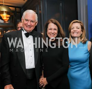 William Lynn, Mary Murphy, Mary Jordan. Photo by Tony Powell. 2019 Atlantic Council Awards. Ritz Carlton. April 30, 2019