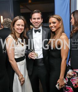 Iva Vukina, Matt Little, Catherine Kolimas. Photo by Tony Powell. 2019 Atlantic Council Awards. Ritz Carlton. April 30, 2019