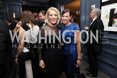 Sandy Dickey, Kathryn Kennedy. Photo by Tony Powell. 2019 Atlantic Council Awards. Ritz Carlton. April 30, 2019