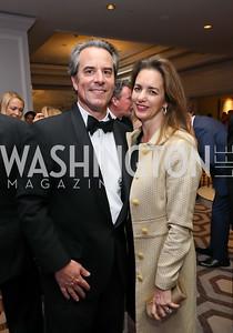 Amb. Stuart Holliday and Gwen Holliday. Photo by Tony Powell. 2019 Atlantic Council Awards. Ritz Carlton. April 30, 2019