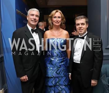Jeff and Kathy Knittel, Ahnet Oren. Photo by Tony Powell. 2019 Atlantic Council Awards. Ritz Carlton. April 30, 2019