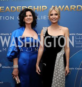 Adrienne Arsht Center for Resilience Director Kathy Baughman McLeod, Ivanka Trump. Photo by Tony Powell. 2019 Atlantic Council Awards. Ritz Carlton. April 30, 2019