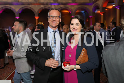 Kent Smith, Dede Byrnes. Photo by Tony Powell. 2019 National Building Museum Gala. May 29, 2019