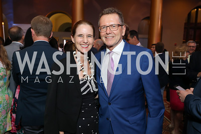 Gudrun Waldner and Austria Amb. Wolfgang Waldner. Photo by Tony Powell. 2019 National Building Museum Gala. May 29, 2019