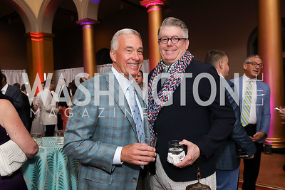 Jim Davis, Ken Baker. Photo by Tony Powell. 2019 National Building Museum Gala. May 29, 2019