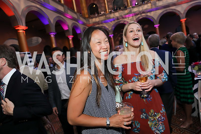Joanne Leong, Bridgette Dussman. Photo by Tony Powell. 2019 National Building Museum Gala. May 29, 2019