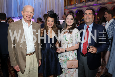 John Wyatt, Audrey Ocana, Lily Goldstein, John Hieronymus. Photo by Tony Powell. 2019 National Building Museum Gala. May 29, 2019